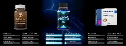 Maca Peruana x Tribulus Power 3.0 x Viagra