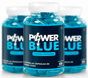 Pote de Power Blue